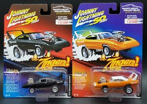 IN-STOCK-Johnny-Lightning-Zingers-MDC-Exc-1970-Plymouth-Superbird-2-Car-Lot