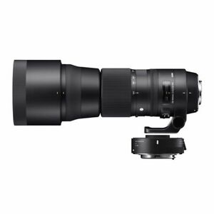 Near Mint! Sigma C 150-600mm F5-6.3 DG OS HSM & TC-1401 for Canon