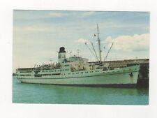MV Doulos OM Ship Visiting Auckland New Zealand Postcard 232b