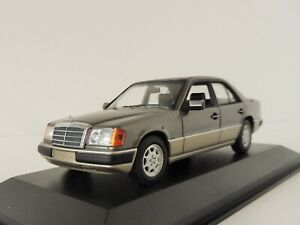 MERCEDES-BENZ-230e-1991-Grey-1-43-MAXI-Champs-940037004-Minichamps-w124-CLASSE-e