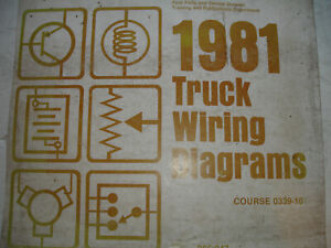 1981 Ford COURIER Truck OEM Electrical Wiring Diagrams ...