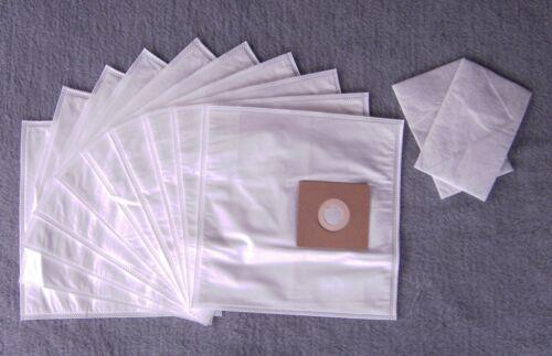 10 Sacchetto per aspirapolvere per Philips HR 6325-6339 Sacchetto per la polvere FILTRO 2