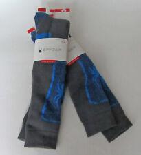 Women Spyder Heat Socks Gray//Mint Green Size 4-10 One Pair Boot Heat Socks