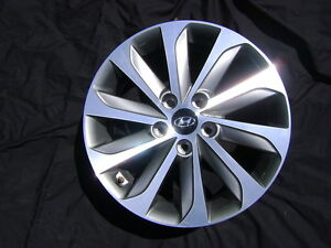 Hyundai Sonata Sport 17 Quot 17x6 5 Polished Charcoal Factory