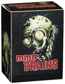 Zombie mmm...Brains Deck Box Legion GAMING SUPPLY BRAND NEW ABUGames