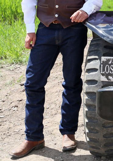 SCHAEFER OUTFITTERS RANCHWEAR HIGH LONESOME SIGNATURE JEANS MADE IN TEXAS - USA