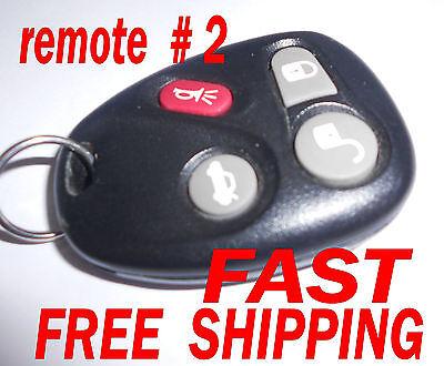 GM CHEVROLET CORVETTE Keyless Entry Fob Remote OEM 25695955 KOBLEAR1XT