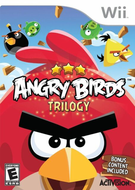 Angry Birds Trilogy Nintendo Wii, 2013  - $12.99