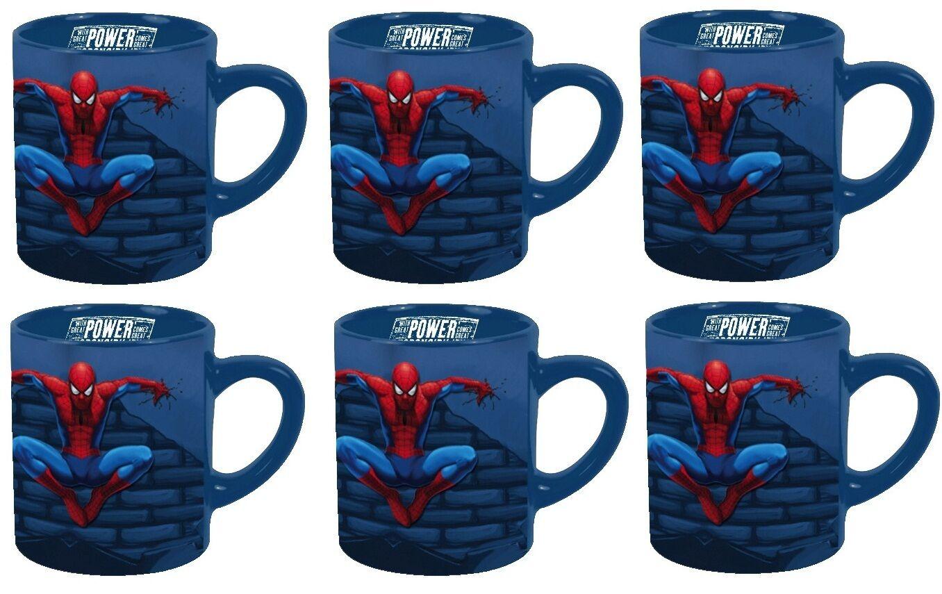 Lotto tazza Spiderman Graffiti 1 à 6 grande in ceramica licenza spider-man 02