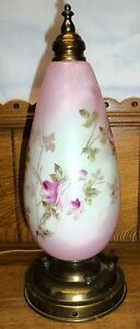 Antique-Parlor-or-Boudoir-Lamp-Transfer-Flowers