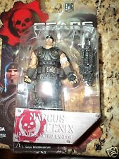 GEARS OF WAR MARCUS FENIX 3 3/4 INCH VIDEO GAME ACTION FIGURE NECA 3.75 EPIC