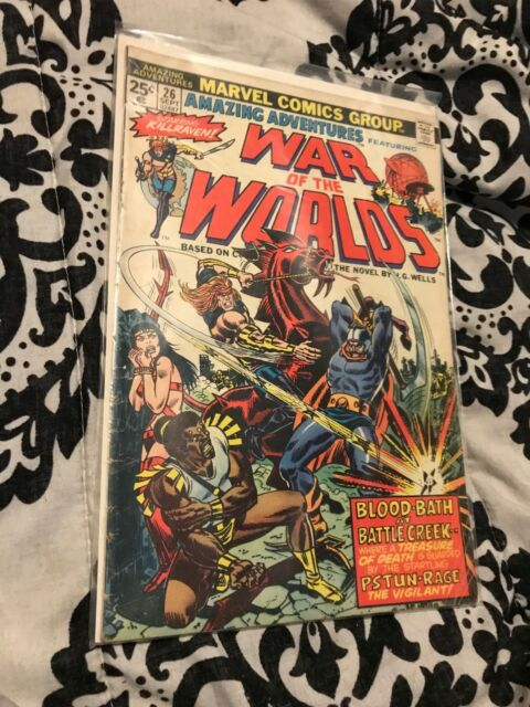 Amazing Adventures #26 WAR of the WORLDS 1974 Marvel Comics VG/F