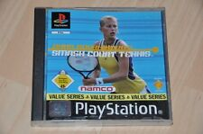 PlayStation 1 juego-Smash Court Tennis-anna kournikova-completo ps1