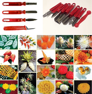Vegetable-Fruit-Carving-Tools-Knife-set-4-9-pcs-Art-Food-Stainless-Steel