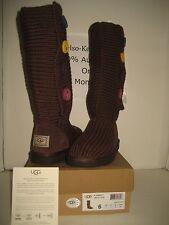NEW BOX UGG Australia Youth US 6 Women 8 Big Girl Kids Brown Cardy II Tall Boots
