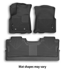 Husky Liners X Act Contour Front And Second Row Floor Mats