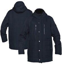 NWT Men's Hurley Navy Chaos Jacket Fleece Lined Parka Size L $200