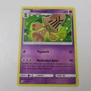 RARE UNIFIED MINDS Pokemon TCG Beheeyem 91//236