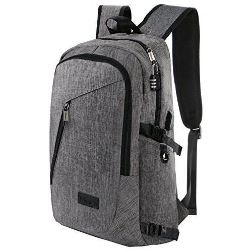 Modern Minimalist Back to School Backpack Water Resistant Sub 17-inch Laptop