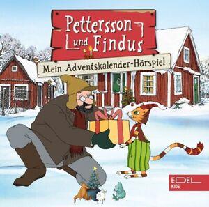 PETTERSSON-UND-FINDUS-PETTERSSON-amp-FINDUS-DAS-ADVENTSKALENDER-HORSPIEL-2-CD-NEU