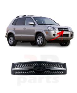 Pour Hyundai Tucson SUV 2004-2009 Nouveau Pare-chocs avant supérieur Grill sans insigne