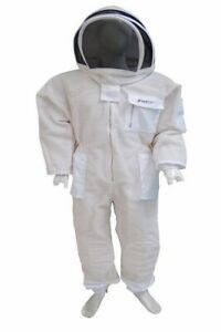 L'apiculture Protection 3 Couche Ventilé Premium Bee Costume/clôture Voile/taille Xl-afficher Le Titre D'origine Bon Pour L'éNergie Et La Rate