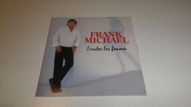Frank Michael – Écouter Les Femmes  CD, Single, Promo Warner 2016