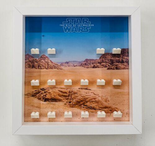 Display Frame Case for Lego Star Wars Rise Of Skywalker Minifigures