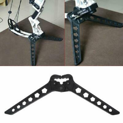 Compound Bow Holder Stand Kick Detachable Archery Bow Stand Holder with Hook