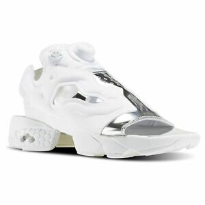 c9d12033a0e9bf REEBOK Women s INSTAPUMP FURY SANDAL MAG NEW AUTHENTIC WHITE BD3186 ...