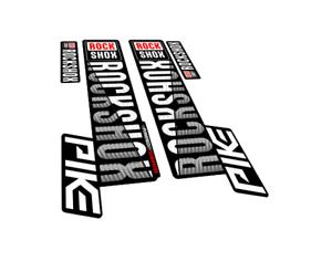 New custom RockShox PIKE fork stickers decals mtb bike