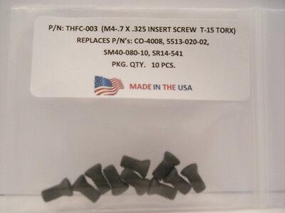 SE02-82 . SM40-093-20 10 Pieces THFC-023 Insert Screw: MS-1986 . SR14-544S .