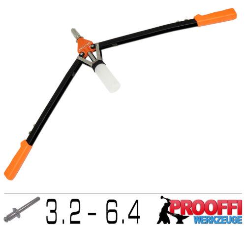 Power Lever Riveter Blind Rivets popnieten Pliers 3.2-6.4mm//550mm Long C0730