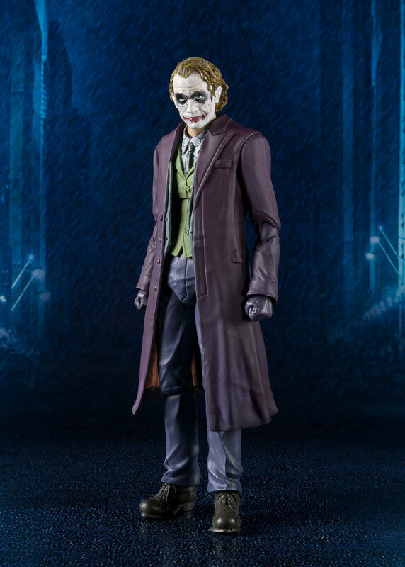 Bandai S. H. Figuarts Batman The Dark Knight Joker Heath Ledger Nuevo