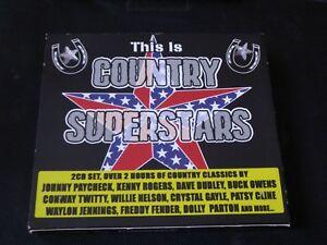 Various-This-Is-Country-Superstars-2-x-CD-JOHNNY-PAYCHECK-KENNY-ROGERS