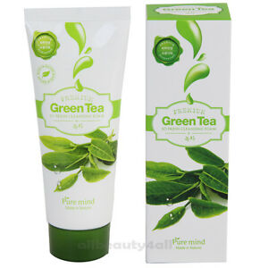 Something Green tea facial cleanser are