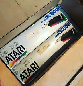 Atari-Home-Computer-800XL-Factory-Box-2-Units-Brand-New-Sealed