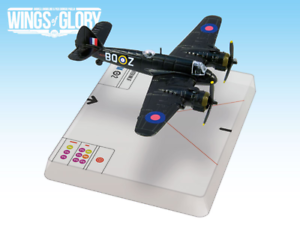AGSWGS201A Ares Games Wings of Glory Bristol Beaufighter Mk.IF Boyd