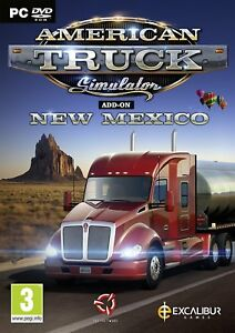 American-Truck-Simulator-Add-On-Neuf-Mexico-PC-DVD-Neuf-Scelle