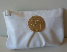 GUERLAIN Signature White Makeup Cosmetics Bag, Brand NEW! 100% Genuine!!