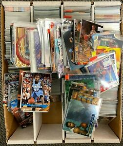 HUGE-Lot-of-3200-count-box-of-All-Inserts-amp-Rookie-Basketball-Cards-Liquidation