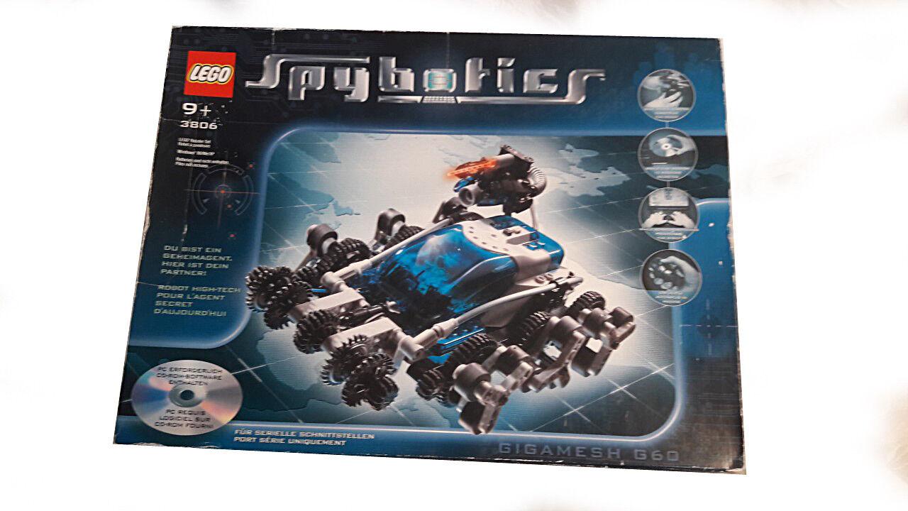 RARE  Lego Spybotics 3806 complet