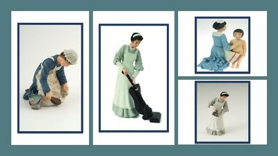 1:12 scale dolls house miniature resin dolls  domestics /& tradesmen choice of 9