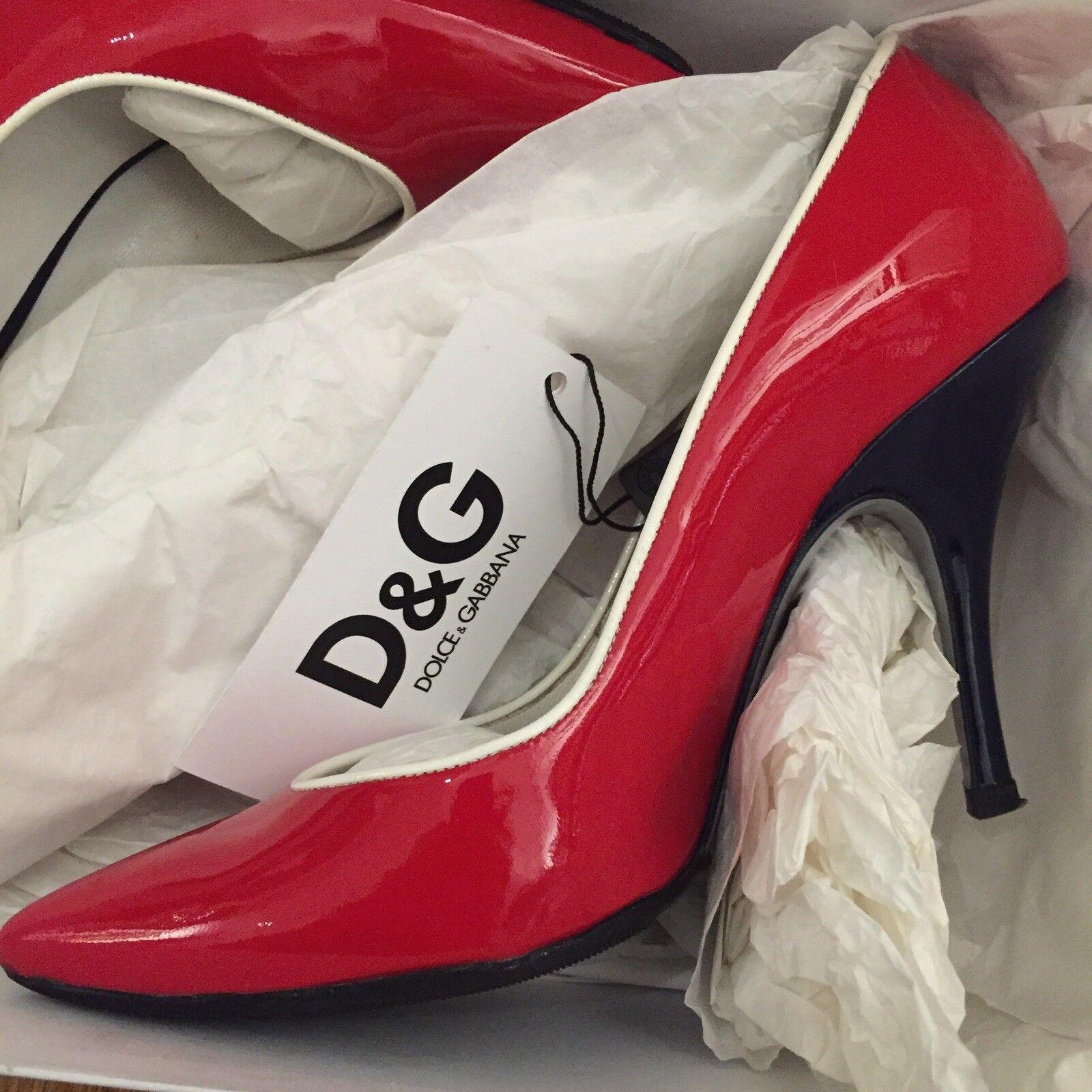 D&G Candy rot Heel Größe 38