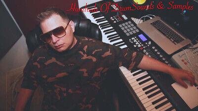 R/&B 2000 Sound Drums /& Samples Kits RnB wav MPC Fruity Logic Pro X Reason FL xl