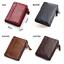 Men-Women-Genuine-Leather-Cowhide-Bifold-Wallet-Holder-Credit-Card-Retro-Purse miniature 2