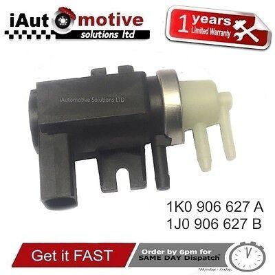 A4 VW PASSAT POLO 1K0 906 627 un Turbo Valvola Solenoide Pressione N75 si adatta AUDI A3
