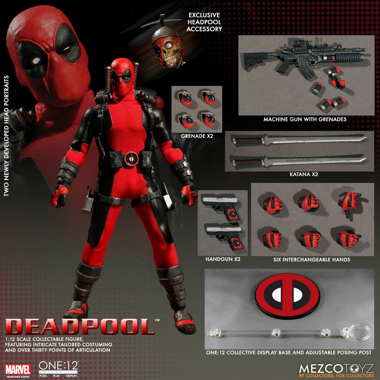 Deadpool One:12 Collective 6