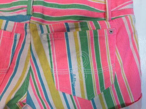 Stripe Nwt Clifton Pulitzer 4 Short Lilly THxPt4qxw