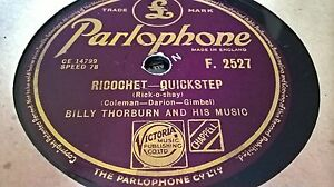 BILLY THORBURN RICOCHET amp RAGS TO RICHES PARLOPHONE F2527 - worcester, Worcestershire, United Kingdom - Returns accepted Most purchases from business sellers are protected by the Consumer Contract Regulations 2013 which give you the right to cancel the purchase within 14 days after the day you receive the item. Fi - worcester, Worcestershire, United Kingdom